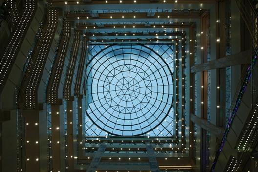 西安赛格国际穹顶水幕
